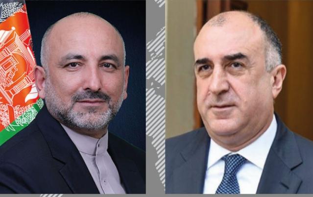 دافغانستان اوآذربایجان د بهرنیو چارو وزیران دلاجوردوپرلارې خبرې شوي