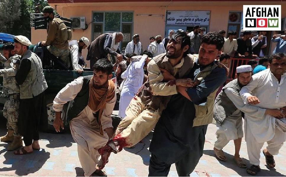 افغان ولس:دسولې راتګ وخته پورې به  جګړې نيمايې افغان ولس له منځه ویسي
