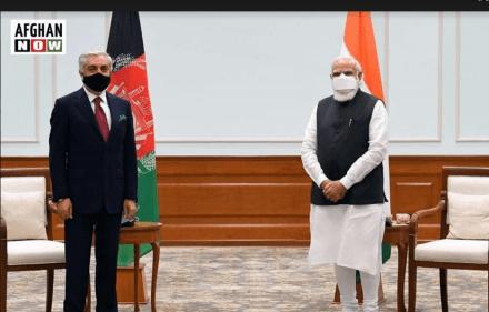 مودي:افغانستان د خلکو د منلو وړ سولې څخه هند ملاتړکوي