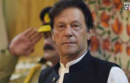 عمران خان: د افغانستان  داخل او د بهر ځیني کړۍ افغانستان کې سوله نه غواړي