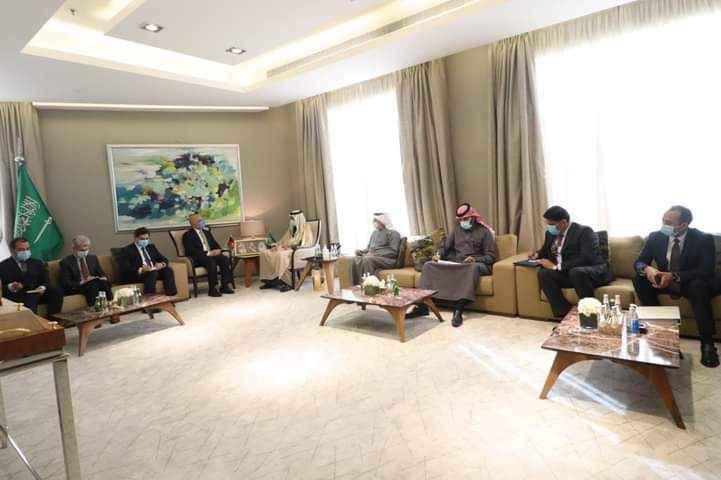دعربستان او افغانستان د همکاریو ګډ کمیسیون له مشرسره د بهرنیو وزیر لیدل کتل شوي