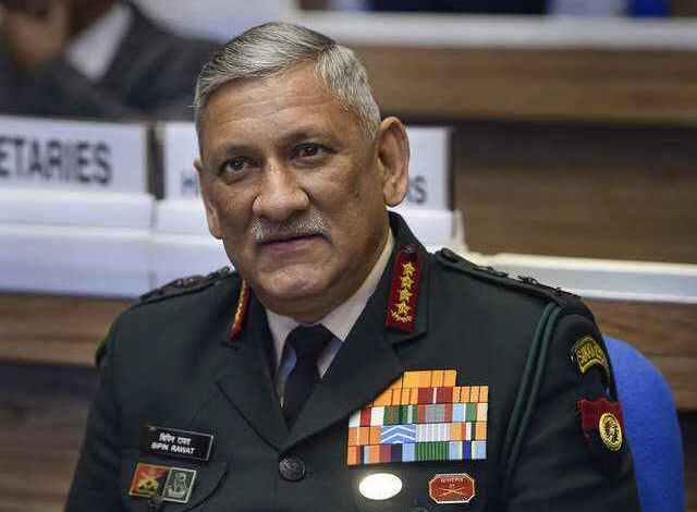 a brief look at general bipin rawat indias first cds